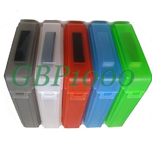 "5 Colors 3 5"" IDE SATA HDD Hard Drive Disk Storage Box Case PVC Plastic Hot"