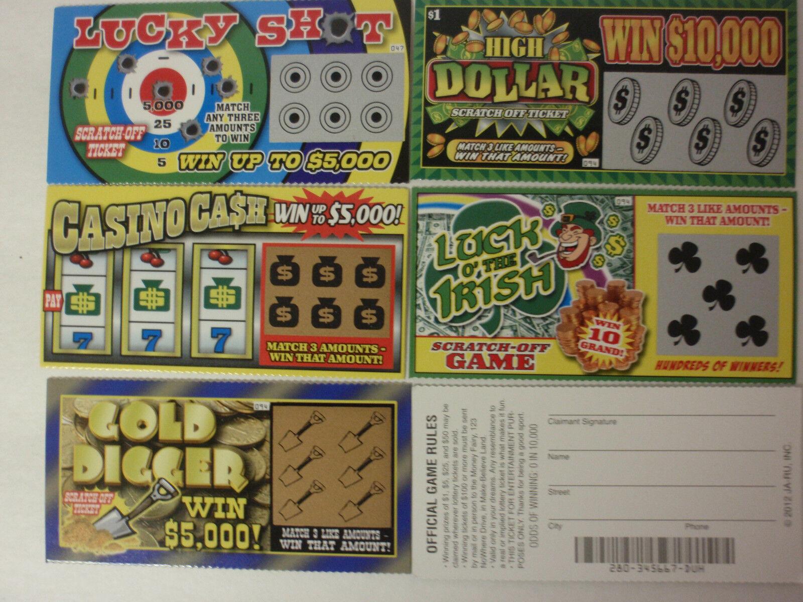 Lottery tickets deadline
