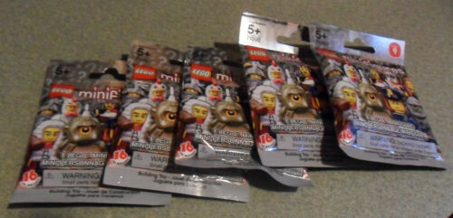 5 PACKS OF LEGO MINIFIGURES SERIES 9 NEW FACTORY SEALED IN PACKAGES in Toys & Hobbies, Building Toys, LEGO | eBay