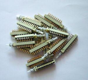 5-Schalter-6-XUM-ITT-Schadow-Druckschalter-Switch-Taste-6-x-um-Revox-Studer