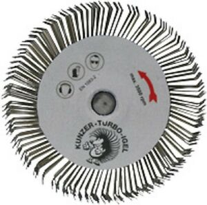 5-Stueck-Kunzer-Turbo-Igel-7TI06-Rundbuerste-Draftbuerste-Entroster-Reiniger
