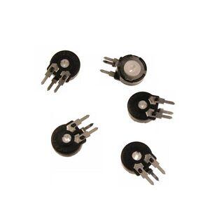 5-Trimmer-Trimmpoti-Poti-Piher-PT10-LH-stehend-500K-004508