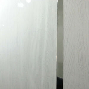 5 X White Wood Wall Panels PVC Plastic Cladding Panels