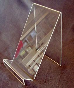 5 zeitungsst nder messe neu zeitschriften aufsteller st nder plexi hochformat ebay. Black Bedroom Furniture Sets. Home Design Ideas