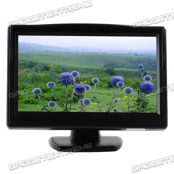 5 inch Security LCD Car Rear View Mirror Monitor Headrest TFT Monitor