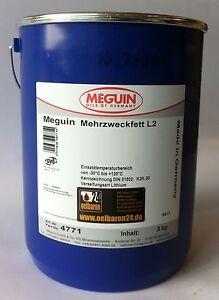 5-kg-Eimer-Meguin-Mehrzweckfett-L2-Eimer-Dose-Schmierfett-Lagerfett-NEU