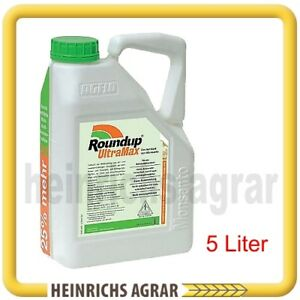 5 l roundup unkrautex round up ultra max gegen unkraut ebay. Black Bedroom Furniture Sets. Home Design Ideas