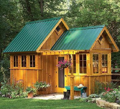 Garden Shed Greenhouse Plans