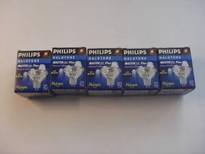 5-x-Niedervolt-Halogen-Reflektorlampe-50W-12V-24-GU5-3-Philips-Masterline-13674