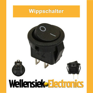 5-x-WIPPSCHALTER-SCHALTER-KIPPSCHALTER-6V-9V-12V-24V-230V-Einbau-20mm