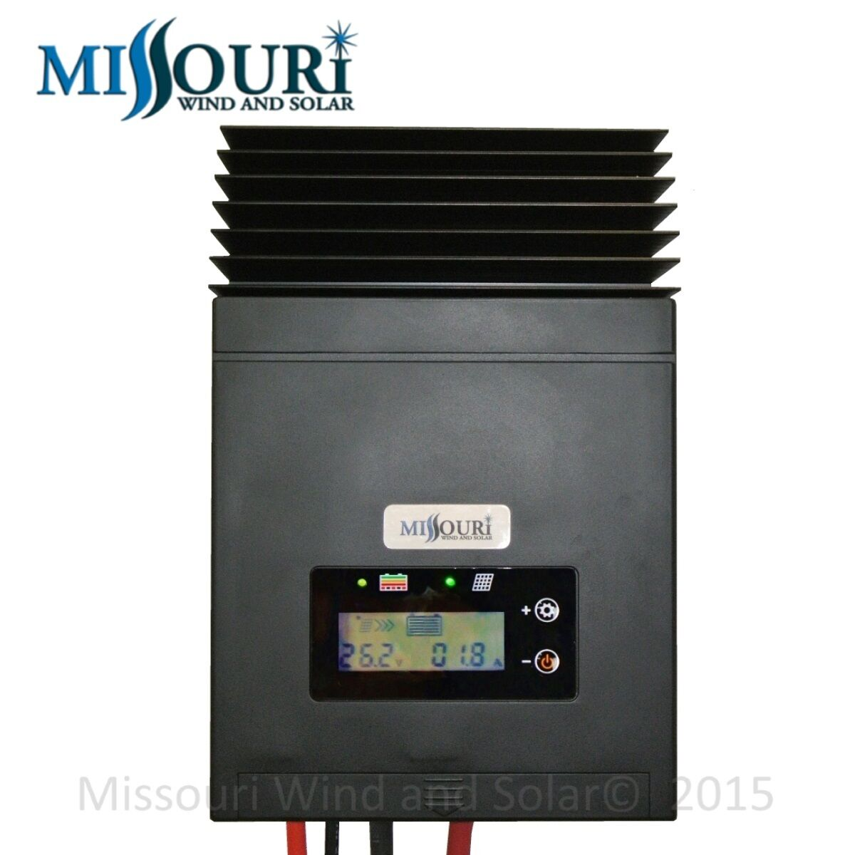 50 Amp Mppt Solar Charge Controller 12 24 Volt Panels Pv Ebay Pwm 20 For Panel Missouri Wind And