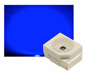 50-St-SMD-LED-PLCC2-PLCC-2-3528-BLAU-500-mcd-ULTRAHELL