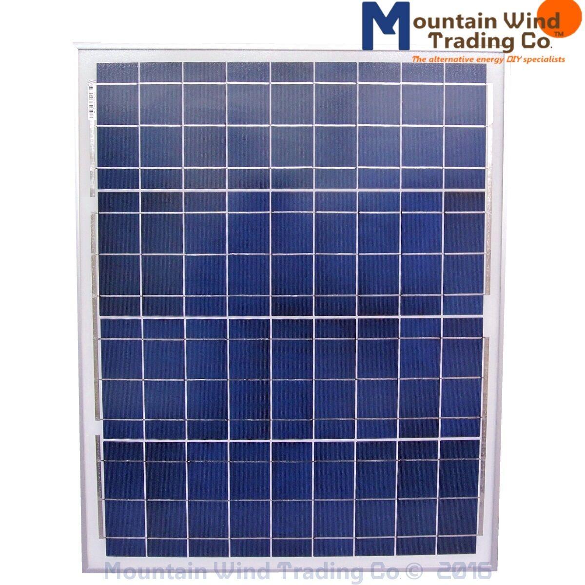 50 Watt 12 Volt Polycrystalline Solar Panel Pv Includes