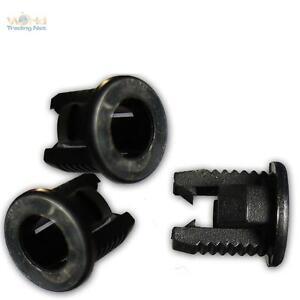 50-x-Montageringe-3mm-LEDs-LED-Fassung-Kunststoff-Clip