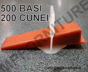 500 basi 200 cunei raimondi distanziatori livellanti - Cunei per piastrelle ...