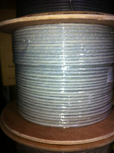 Gigabit Copper on 500  Cat7 Cat 7 Shielded Copper Cable 10gb 10 Gigabit   Ebay