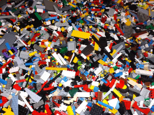 500+ Clean Lego Pieces FROM HUGE LOT- WITH MINIFIGURES *Washed and Sanitized* in Toys & Hobbies, Building Toys, LEGO | eBay