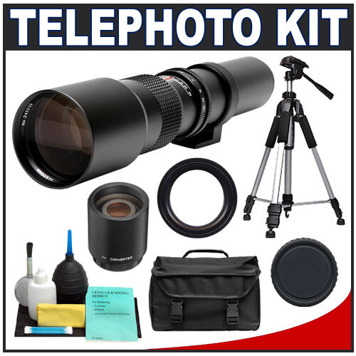 500mm 1000mm Telephoto Lens for Canon Rebel XS T1i T2i T3 T3i T4i DSLR Camera in Cameras & Photo, Lenses & Filters, Lenses | eBay
