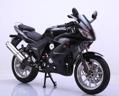 50ccm 4 takt rennmotorrad ym50 9 moped bike roller. Black Bedroom Furniture Sets. Home Design Ideas