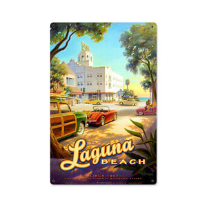 50er Jahre Laguna Beach Kalifornien Surfing 1957 Retro ...  50er Jahre Lagu...