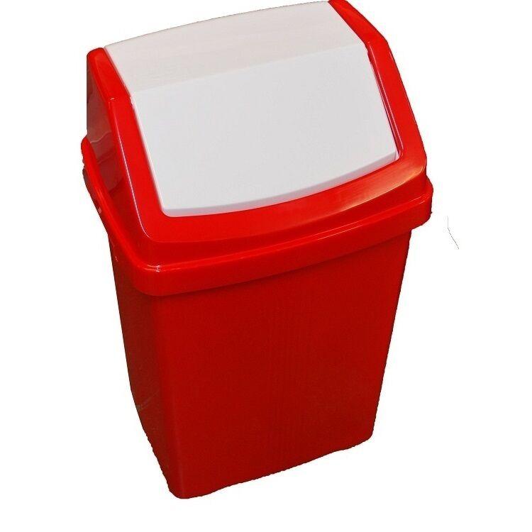 Industrial Kitchen Bin: 50L Plastic Swing Lid Bins,Recycling Bin Waste Bin Kitchen