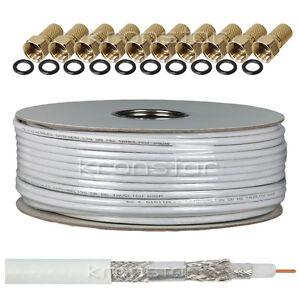 50m-130dB-KRONSTAR-Koaxialkabel-DIGITAL-Antennenkabel-SAT-Kabel-Stahl-Kupfer-TV
