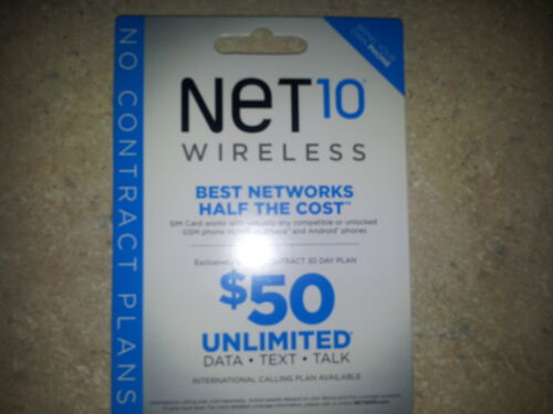 50x NET10 SIM CARD'S. Great for GSM AT&T Phones. Minutes not included. in Cell Phones & Accessories, Phone Cards & SIM Cards, SIM Cards | eBay