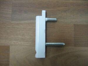 50x siegenia eckband kf a0068 weiss fl gelteil f r dreh kipp fenster t ren ebay. Black Bedroom Furniture Sets. Home Design Ideas