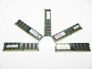 512MB-400MHz-DDR400-PC3200-Arbeitsspeicher-verschiedene-Hersteller-DDR1-PC