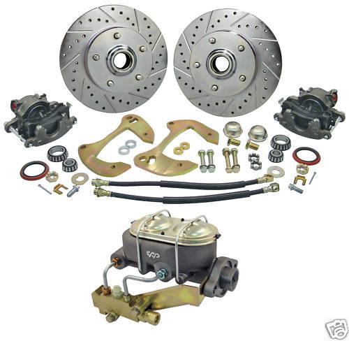 55 56 57 Chevy Bel Air Manual Disc Brake Conversion Kit