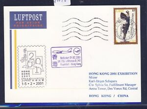 55046-LH-SF-Frankfurt-Hongkong-1-2-2001-Karte-Frankreich-Europarat-R