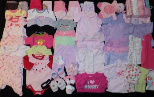 56 pc Used Baby Girl Preemie & Newborn NB Fall Winter Clothes Shoes Blankets Lot in Clothing, Shoes & Accessories, Baby & Toddler Clothing, Girls' Clothing (Newborn-5T) | eBay