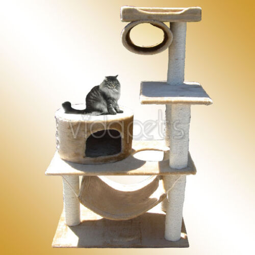 "58"" Cat Tree House Condo Scratcher Post Furniture C2 in Pet Supplies, Cat Supplies, Furniture & Scratchers 