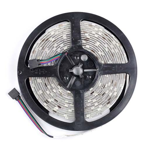 Outdoor 12 Volt 60leds Meter Led Strip Smd 5050 Rgb: 5M 16 4ft RGB 5050 SMD 150LEDs Flexible Waterproof LED