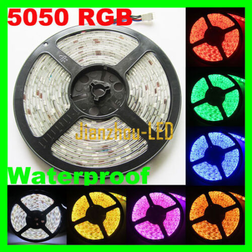 5M RGB 5050 Waterproof SMD Flexible LED Strip light 300 Leds 12V for car in Consumer Electronics, Vehicle Electronics & GPS, Car Electronics Accessories | eBay