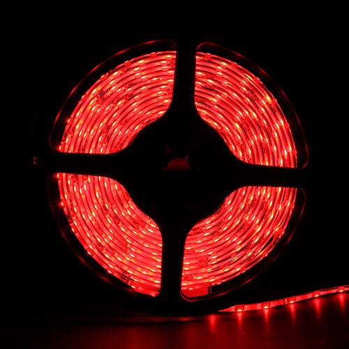 5m smd 3528 red waterproof led strip light 300 led flexible flash. Black Bedroom Furniture Sets. Home Design Ideas