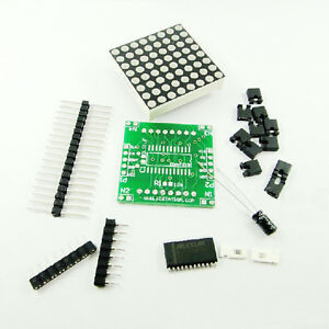 5Stk-Neu-MAX7219-Dot-Matrix-Module-DIY-kit-Cascade-Control-Display-Module