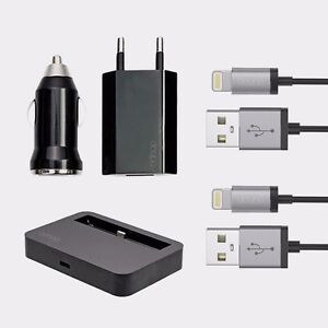 5in1-Lade-Set-Auto-Adapter-Docking-Netzteil-iPhone-6-6s-Plus-5-5C-5S-Schwarz