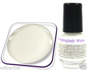 5ml-Stamping-Lack-fuer-KONAD-Nail-Stempellack-Farbe-Weiss-Weiss
