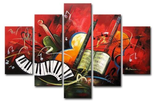 5pcs artwork Music score Decor Landscape Oil Painting (no frame ) #6286 in Crafts, Art Supplies, Painting | eBay