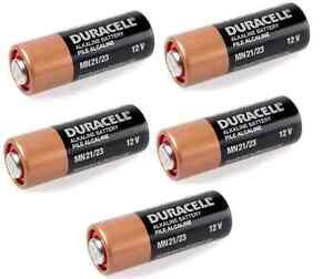 5x-Batterie-MN21-A23-23A-Duracell-Alkaline-12V-K23A-LRV08-GP23A-E23A-8LR932