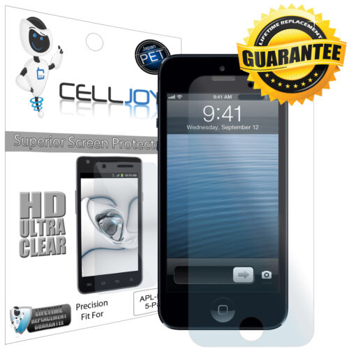 5x CellJoy HD Ultra-Clear Screen Savers Guards Protector For iPhone 5 5G 6th Gen in Cell Phones & Accessories, Cell Phone Accessories, Cases, Covers & Skins | eBay