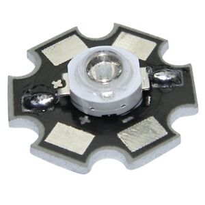 5x-HighPower-Led-1-Watt-auf-Star-Platine-350mA-1-W-Hochleistungs-Chip-High-Power