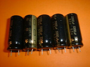 5x-Panasonic-Elko-3300-F-6-3V-105-C-Low-ESR-10x25mm-Mainbord-Elko-3300uF