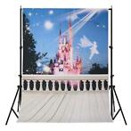 5X7FT Poftray Dream Fairy Tale Kasteel Achtergrond Fotogr...