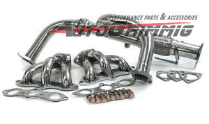 Acura 2003 on Header Headers For Acura 2001 2003 Cl Tl Type S 3 2l V6 02   Ebay