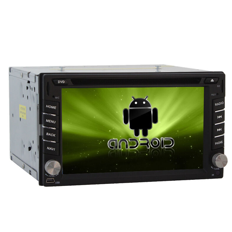 In Dash 2 Din Car DVD Player GPS Android 3D 3G WIFI 1GHz CPU 4G