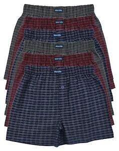 6-Baumwoll-Boxershort-Shorts-Boxer-Pants-Hipster-Pant-Herren-Boxershorts-Slip