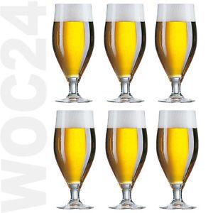 6 biergl ser biertulpen biertulpe bierglas bier glas gl ser pilsglas pilsgl ser ebay. Black Bedroom Furniture Sets. Home Design Ideas