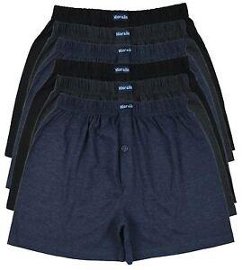 6-Boxershorts-Herren-Boxer-Shorts-Hipster-Pants-Unterwaesche-Ubergroessen-Gross
